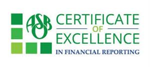 ASBO Certificate of Excellence Logo