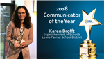 2018 Communicator of the Year Award