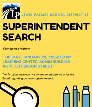 Superintendent Search