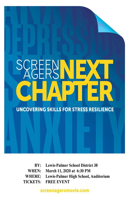 Screenagers Next Chapter Flyer