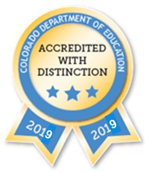 Accredited With Distinction 2019